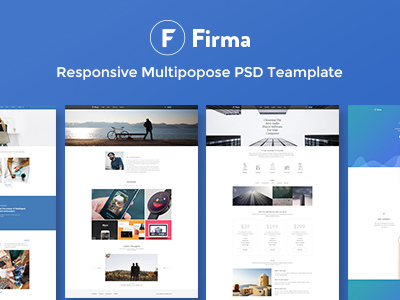 Firma - Multipurpose PSD Template (PSD Templates)