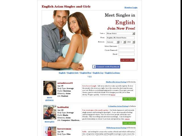 English Asian Girls, English Asian Singles, English Asian Dating at Date.com