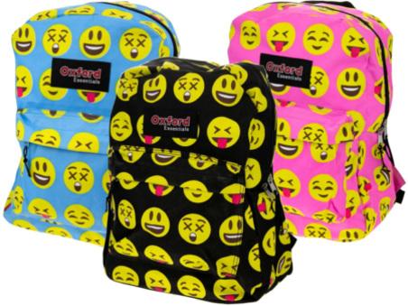 $7.99 (Reg $18) Kid's Emoji Backpacks + FREE Shipping