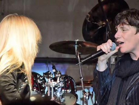 Video: LITA FORD And MR. BIG's ERIC MARTIN Perform 'Close My Eyes Forever' In Minnesota
