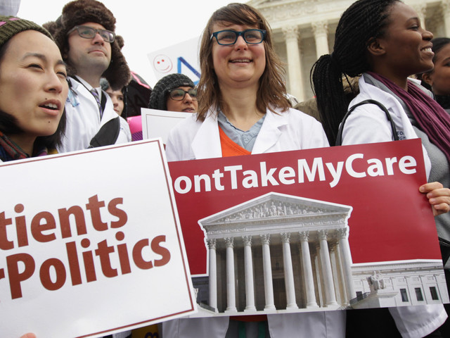 Obamacare Enrollment Is 10 Million, But Supreme Court Ruling Could Shrink It Dramatically