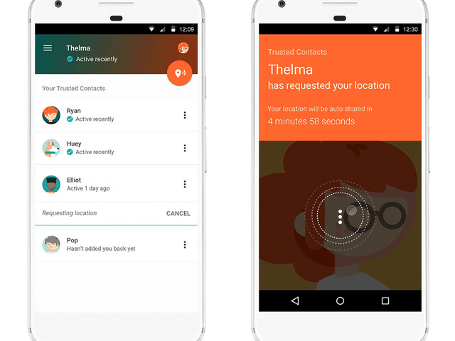 Google's new Trusted Contacts app is all about your personal safety