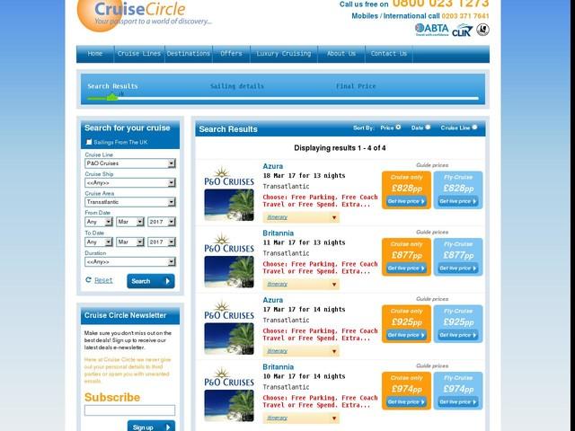 £828pp -- Two-Week P&O Caribbean Transatlantic Fly/Cruise