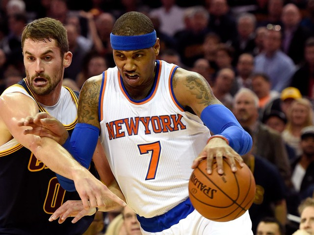Carmelo Anthony to the Cavaliers is our wildest NBA trade rumor yet