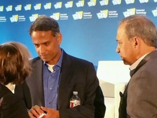 Krishnan Discusses Smart Mobility at Consumer Electronics Show