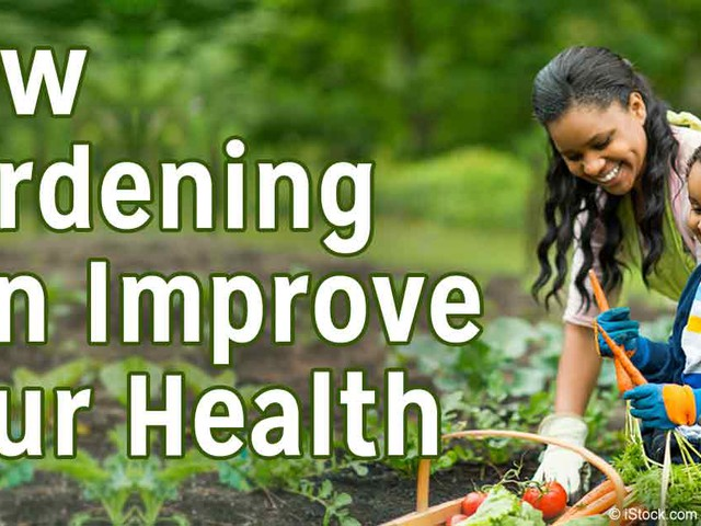 How Gardening Can Improve Your Health, Fitness, Mood and Nutrition