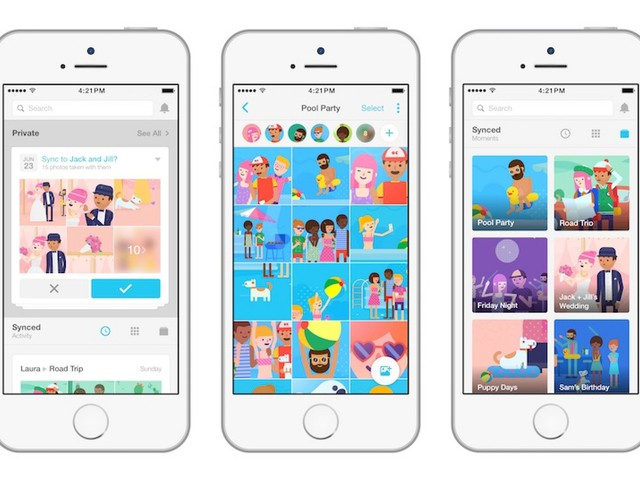 Facebook Forcing Users to Install Moments App to Retain Synced Photos