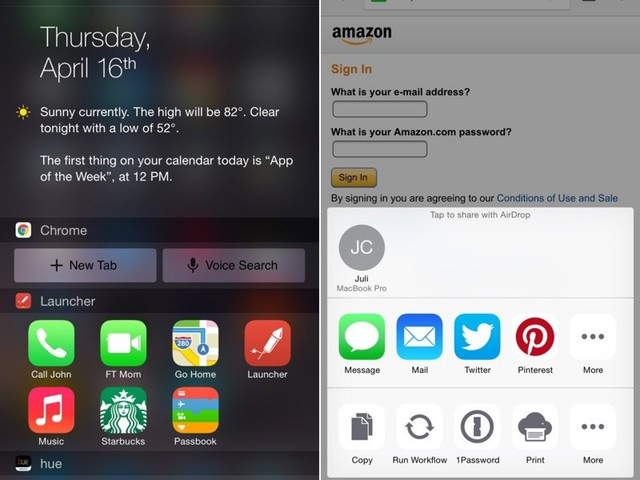 Google Updates Chrome Browser for iOS With Notification Center Widget, App Extensions [iOS Blog]