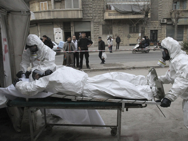 UN/OPCW Report Blames Syria Government, Islamic State For Chemical Attacks