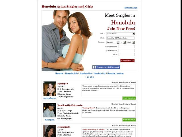 Honolulu Asian Girls, Honolulu Asian Singles, Honolulu Asian Dating at Date.com