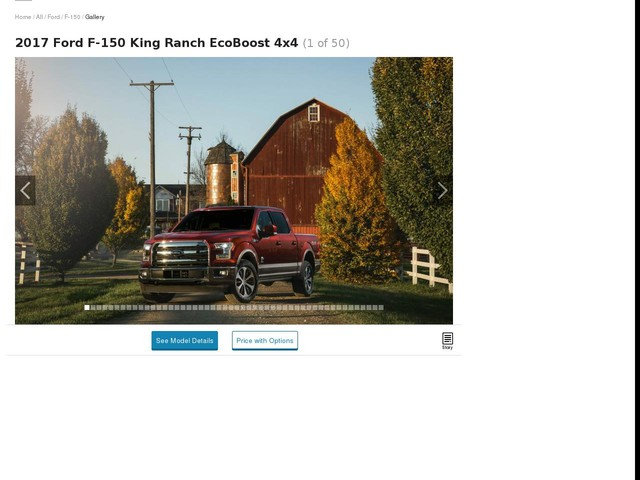 The Ford F-150 / F-150 Raptor Is the Best Full-Size Pickup – 2017 10Best Trucks and SUVs