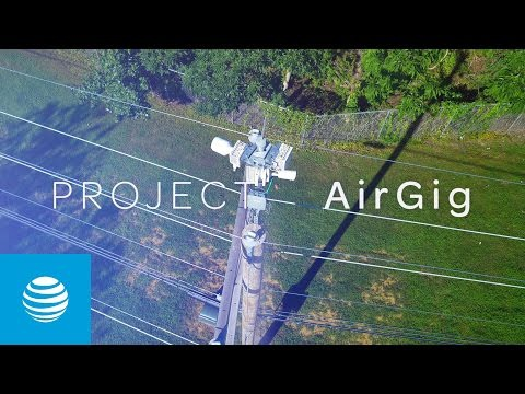 AT&T Labs' Project AirGig Nears First Field Trials for Ultra-Fast Wireless Broadband Over Power Lines