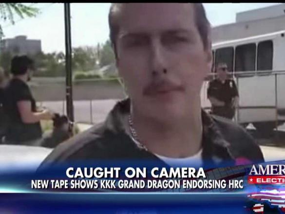 Video Shows Ku Klux Klan (KKK) Grand Dragon Endorsing Hillary Clinton