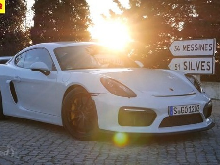 Porsche Cayman GT4 Tested On Track: Video