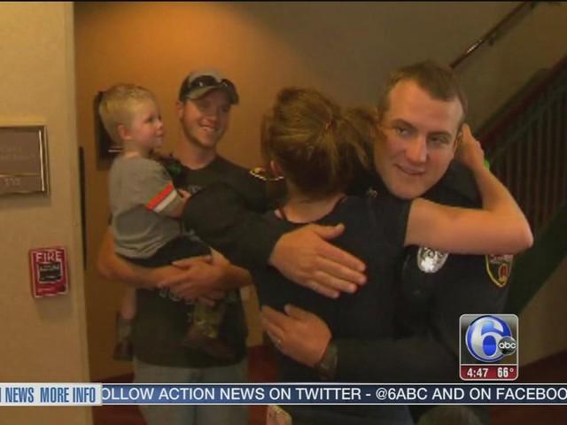 Video captures Texas police officer saving boy's life