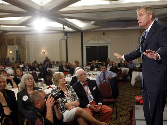 Lindsey Graham Is Sort Of Screwing Up The Early South Carolina Primary
