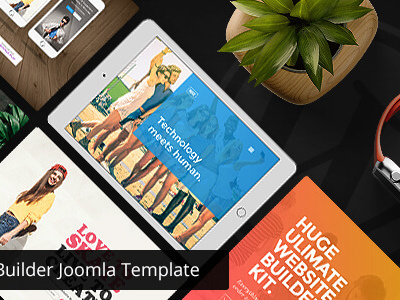 Huge - Multipurpose Joomla Template (Business)