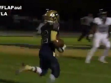 VIDEO: Tampa high school football player makes 360 flip, sticks the landing