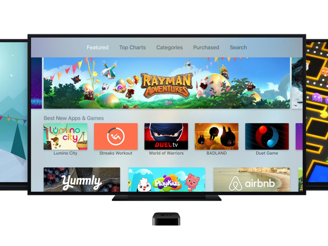 Apple TV App Store Top Charts algorithm now hides apps that you already have installed