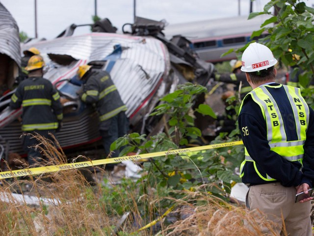 Video cameras coming to Amtrak train cabs after Philly crash