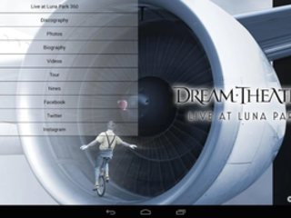 DREAM THEATER 360° Interactive App For Android Now Available From MATIVISION