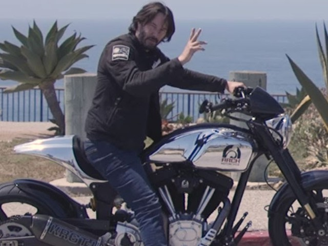 Keanu Reeves Rolls Out His Very Own Motorbike, The $93,000 KRGT-1