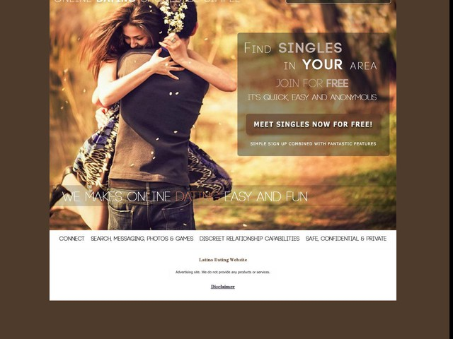 Latino Dating Website : Dating Site For Singles & Personals