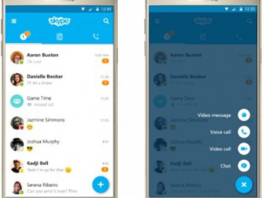 Skype Overhauls Android and iOS Mobile Apps