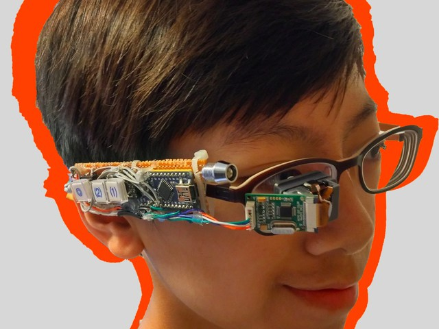 Arduino-Based Smart Glasses by a 13-Year-Old - Jordan Fung's Pedosa Glass