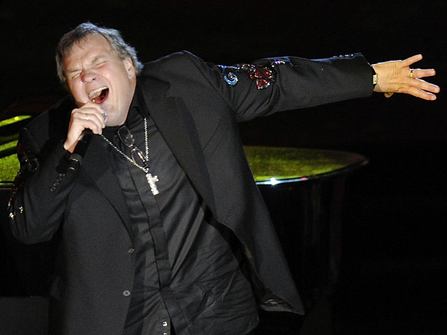 Rocker Meat Loaf Collapses On Stage In Canada
