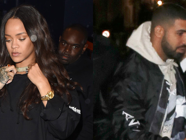 Drake Parties It Up With Rihanna Again in London