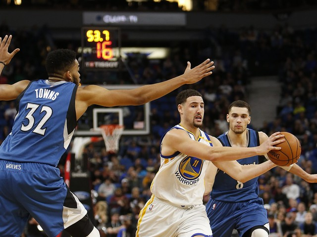 Warriors to play preseason games against Timberwolves in China