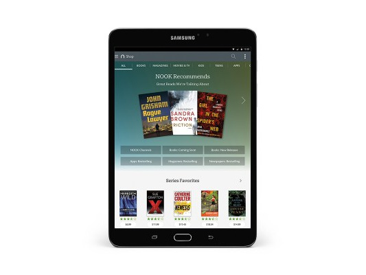 Barnes and Noble announces Samsung Galaxy Tab S2 NOOK