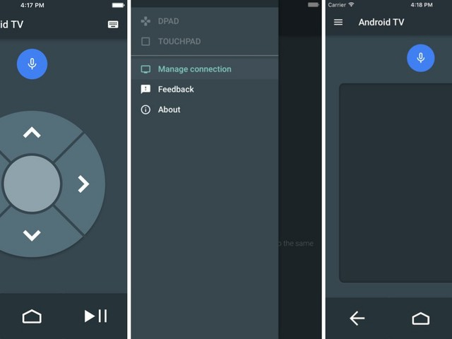 Google Releases Android TV Remote App for iOS