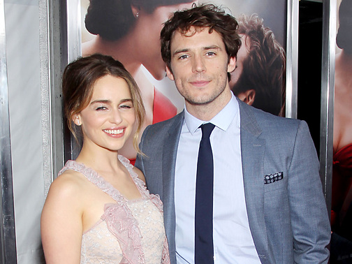 Emilia Clarke & Sam Claflin Feel the Love at 'Me Before You' Premiere
