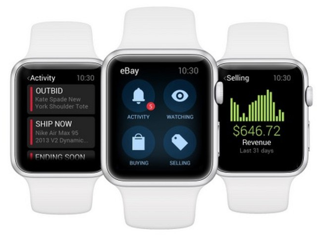 The Wait is Over: eBay for Apple Watch Launches Today on App Store [iOS Blog]