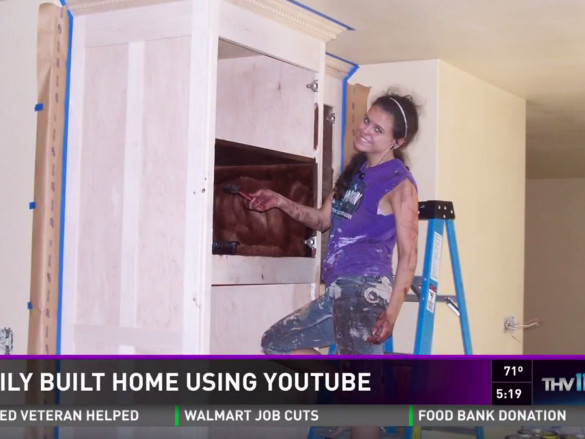 A Mom and 4 Kids Used YouTube Videos to Build a New House for Themselves