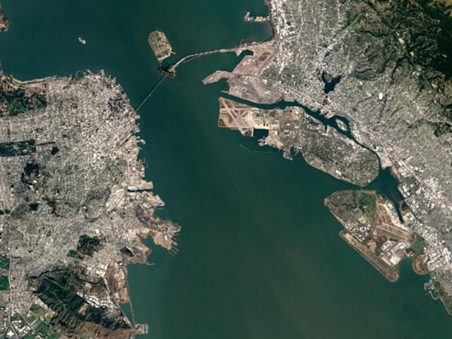 Google's Satellite Map Gets a 700-Trillion-Pixel Makeover