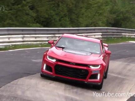 Chevrolet Camaro ZL1 Caught Doing Test Runs Around The Nürburgring: Video