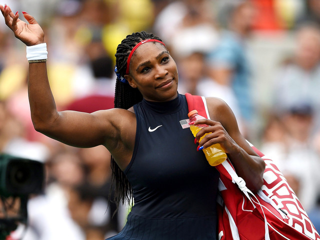Serena Williams looks to be part of an event bigger than her