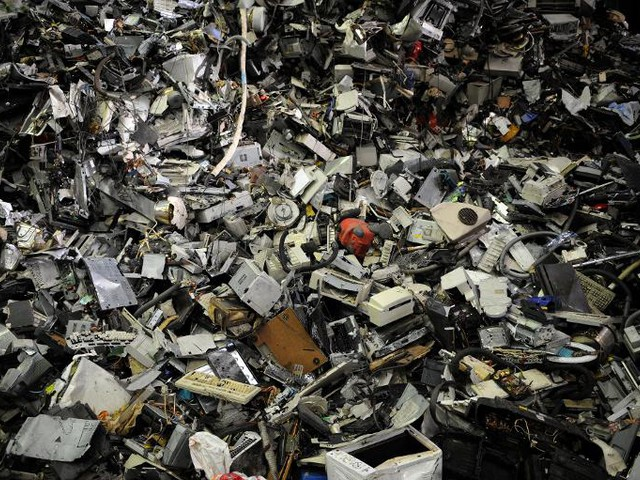 Mountain of electrical waste reaches new peak