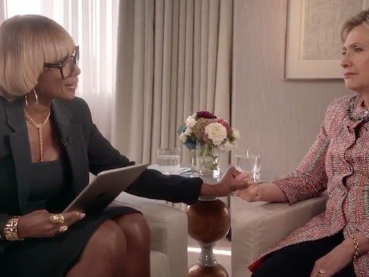 Video Of Mary J Blige Singing To Hillary Clinton Has Twitter Lighting Up