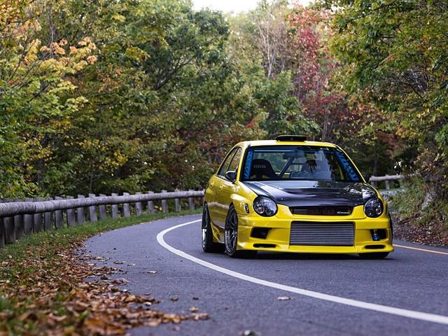 Chris Roux's 2003 Subaru WRX