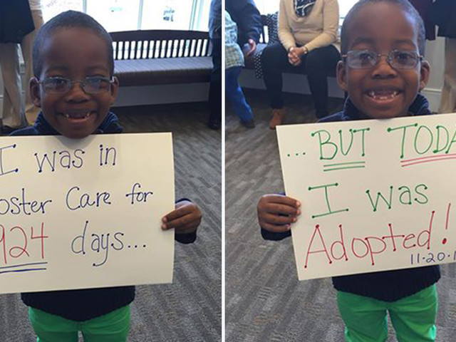 18 photos and 6 facts that could challenge views about adopting from foster care