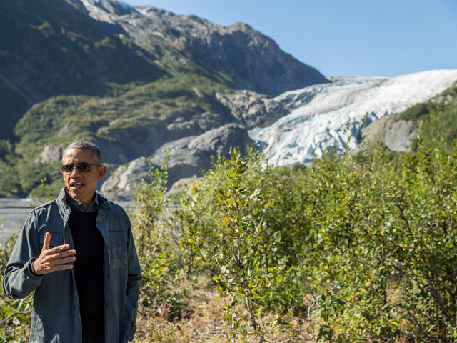 Obama: Climate action not just for 'tree-huggers'