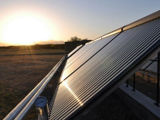 Solar Thermal Panels For Heating & Cooling