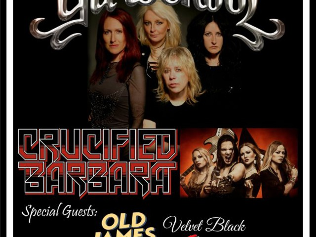 Video: GIRLSCHOOL Performs At Whisky A Go Go