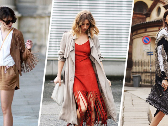 18 Ways to Wear Fringe This Spring