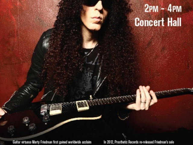 Video Footage Of Former MEGADETH Guitarist MARTY FRIEDMAN's MUSICIANS INSTITUTE Clinic