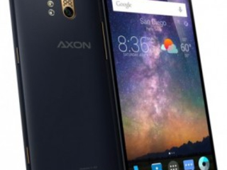 ZTE's Axon Phone Swings By the FCC for Approval